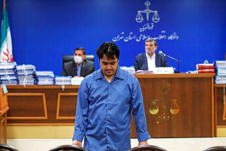 Ruhollah Zam, jornalista dissidente capturado e executado no Irã