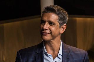 Márcio Garcia em jantar oferecido para João Doria no Rio de Janeiro