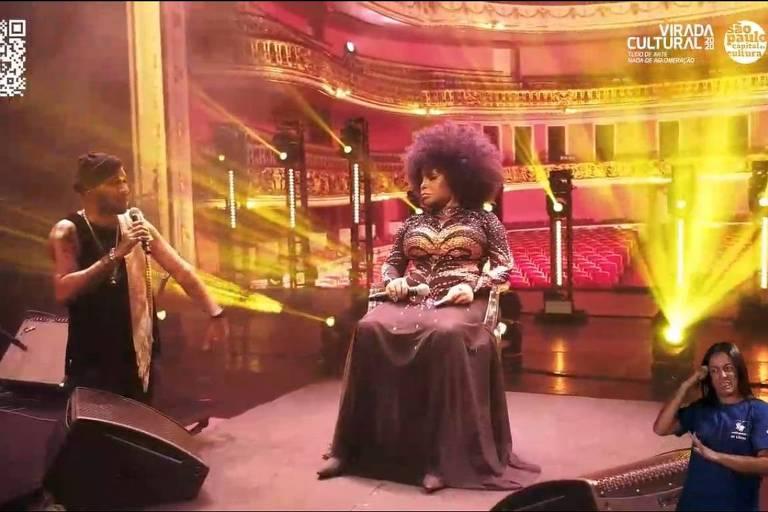 Elza Soares e Renegado cantam na Virada que 'carne negra não está de graça'