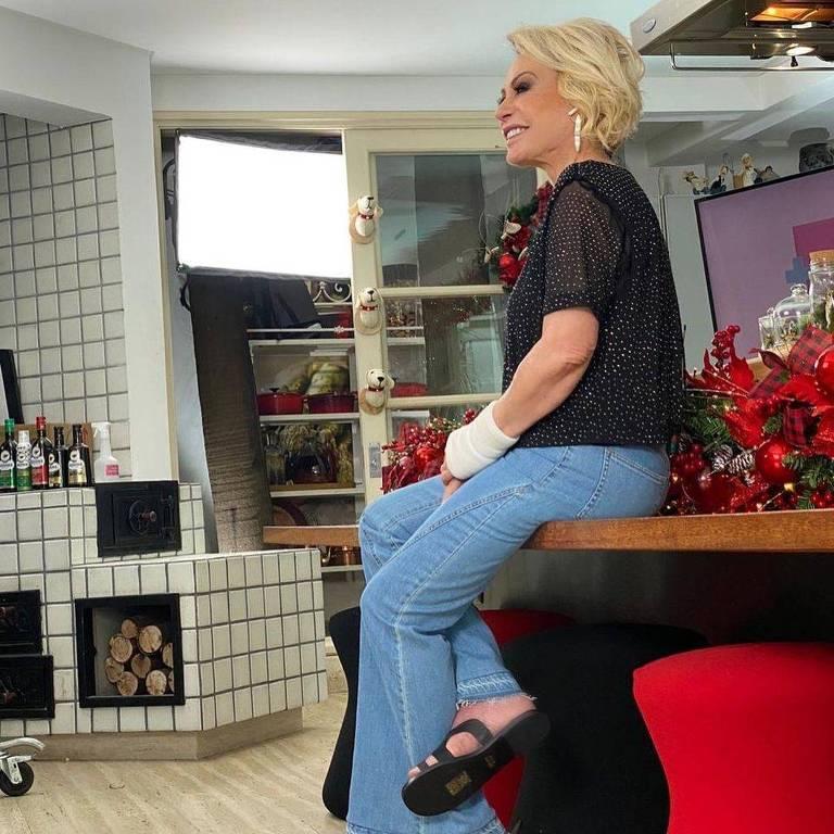 Ana Maria Braga em casa