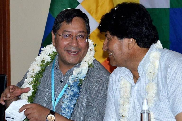 Dirigentes da CUT vão à Bolívia encontrar presidente Arce e convidar Evo a vir a SP