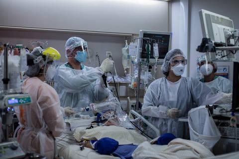 Hospital Albert Einstein tem lotação de 104%, com ocupação total e fila de espera