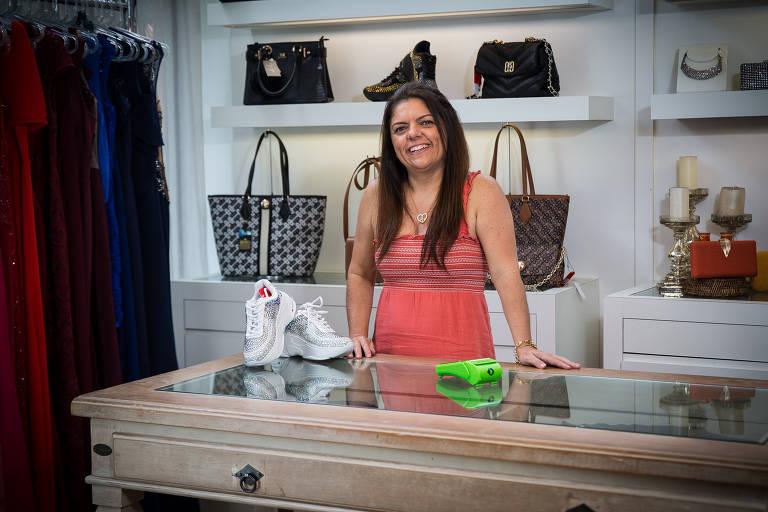 Sheila, dona da loja Sheli, não aderiu ao Pix