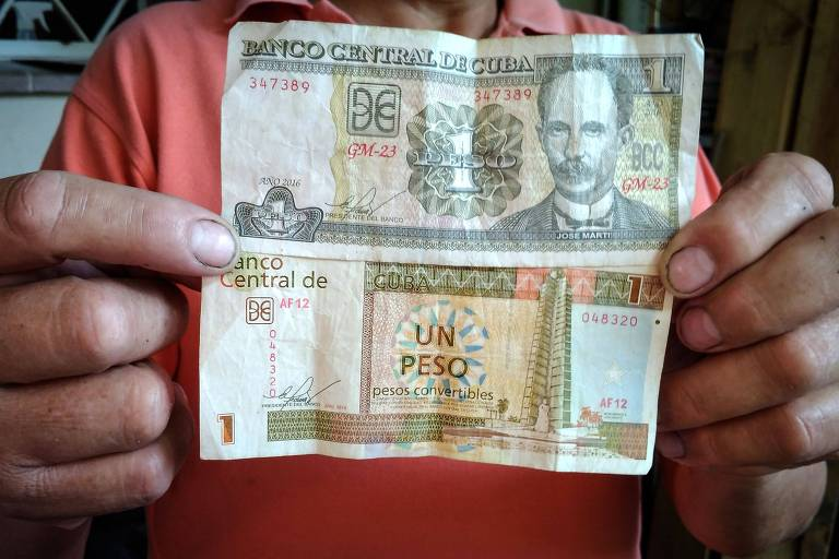Cuba vai unificar moedas a partir de janeiro de 2021