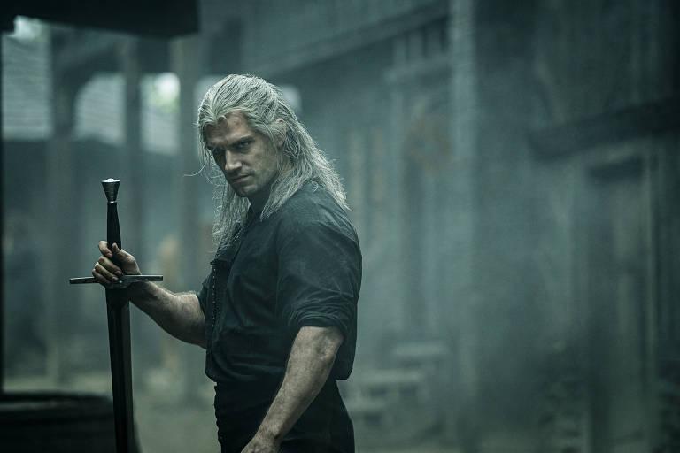 Cena da série 'The Witcher', da Netflix