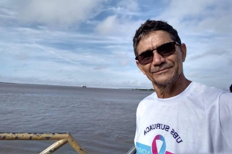 O agente comunitário de saúde Djalma Moreira Lima, o Djalma Suruacá, foi vítima da Covid-19 e voluntário na Campanha Com Saúde & Alegria sem Corona