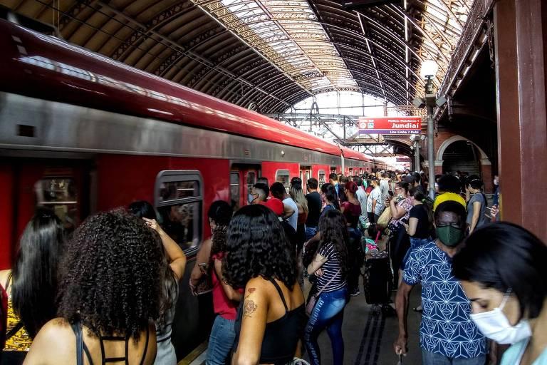 Estação da Luz, uma das mais movimentadas de São Paulo