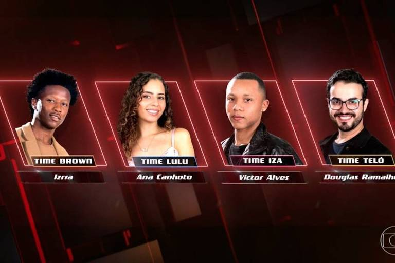 Izzra, Ana Canhoto, Victor Alves e Douglas Ramalho são os finalistas do The Voice Brasil