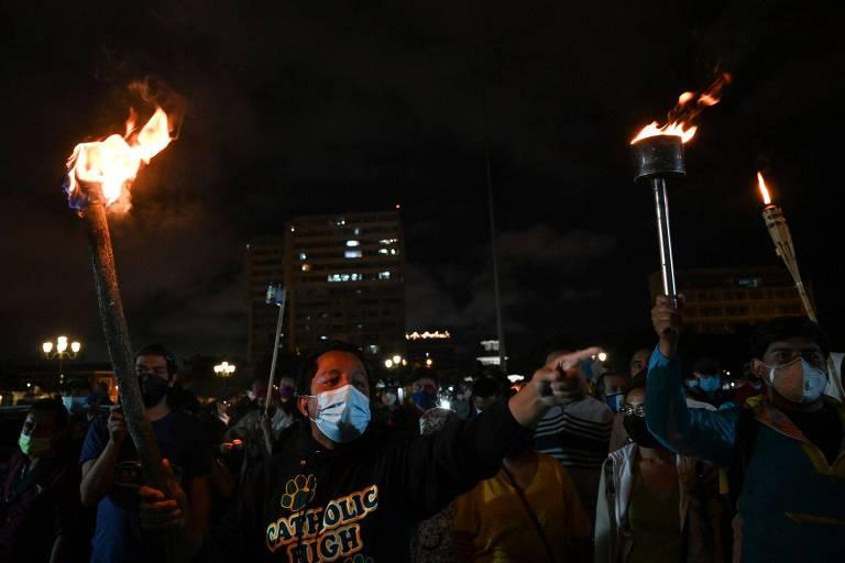 O orçamento que desencadeou a fúria na Guatemala