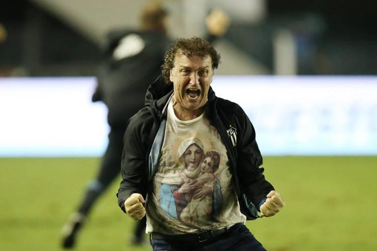 Cuca reassumiu a equipe após a saída de Jesualdo Ferreira