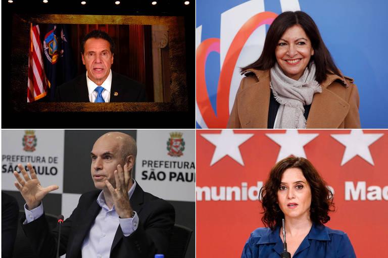 Pandemia amplia embates de prefeitos e governadores com líderes nacionais