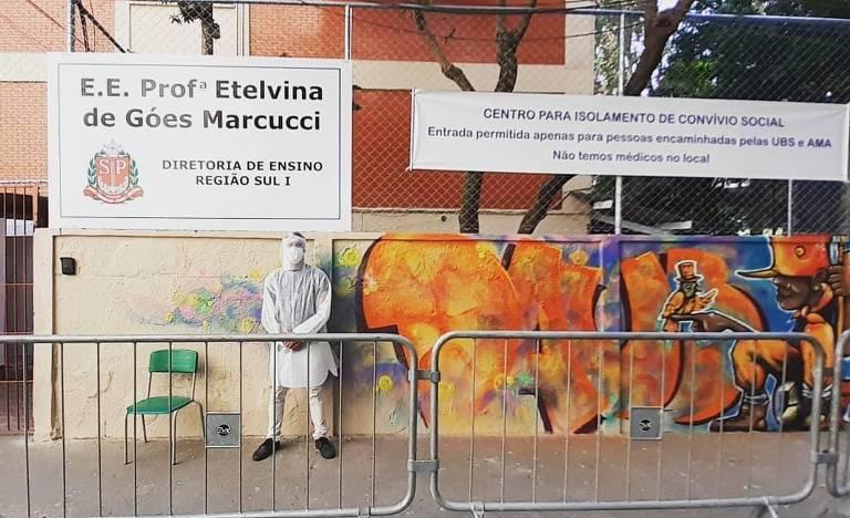 Igor Alexsander, o Pastor do Funk, coordenou as casas de acolhimento em Paraisópolis