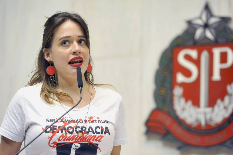 Deputada apalpada por colega critica silêncio de Doria e de presidente da Assembleia de SP