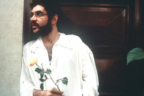 O cantor e compositor Renato Russo [líder da banda
