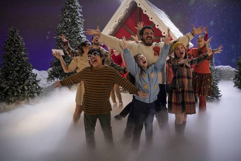 Veja cenas de 'Dez Horas para o Natal', um dos primeiros filmes de Natal brasileiros