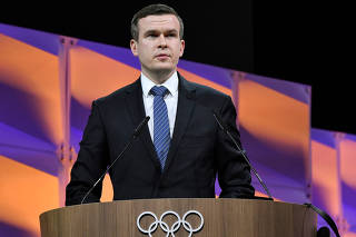 Witold Banka during the 135th IOC Session