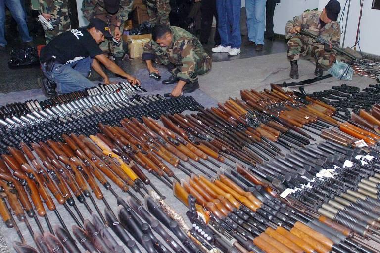 Ministério da Defesa quer zerar tarifa criada para evitar contrabando de armas