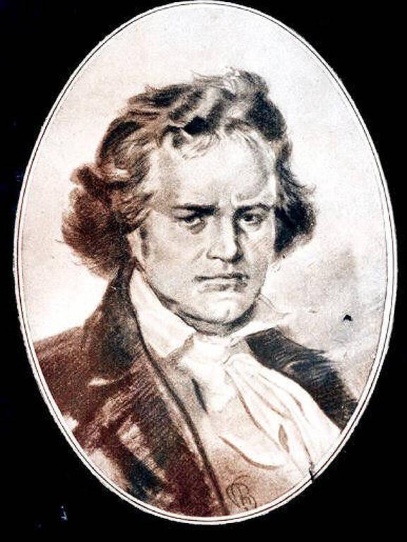 Veja retratos de Ludwig van Beethoven