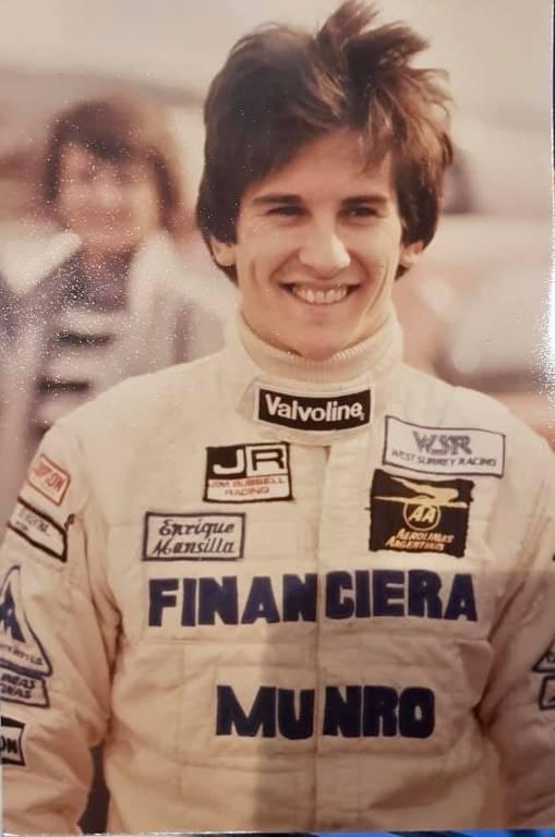 Enrique Mansilla, ex-piloto argentino