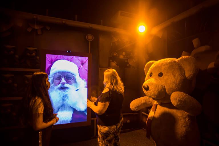 Papai Noel virtual