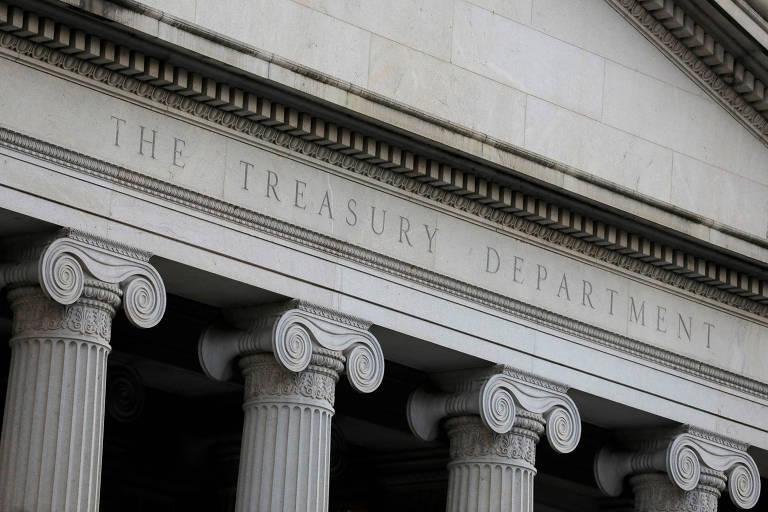 Secretaria do Tesouro, em Washington; órgão foi alvo de ataques hackers