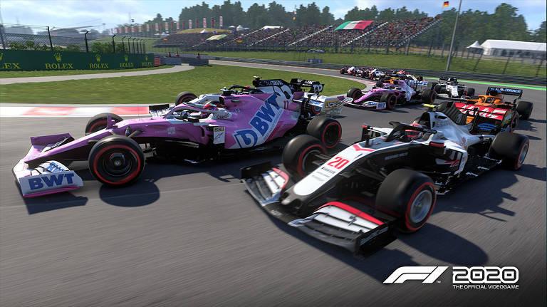 Jogo de videogame oficial da F1