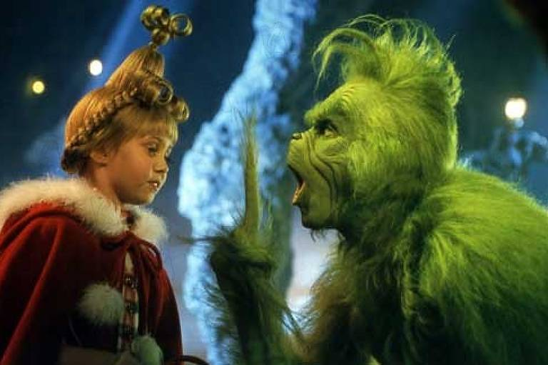 "Cena de ""O Grinch"" (2000), de Ron Howard"