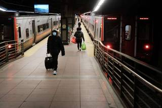 CDC Recommends People Avoid Nonessential Travel During Christmas Holiday To Curb Spike In Covid Cases