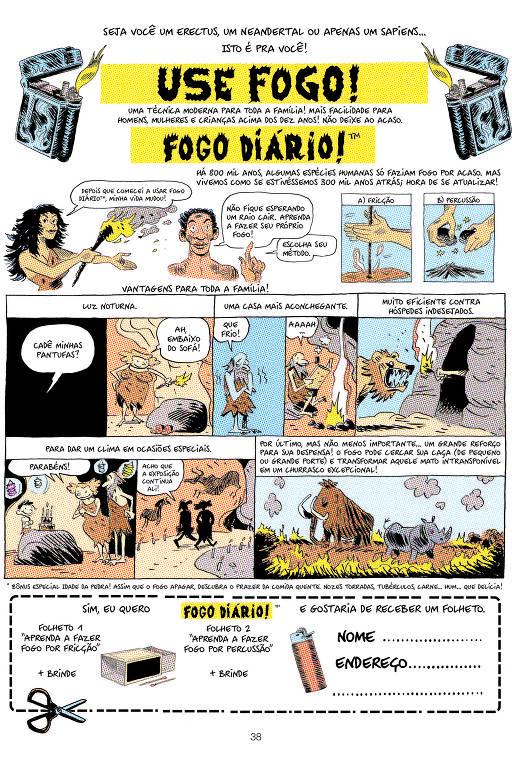 'Sapiens', de Yuval Noah Harari, ganha versão em quadrinhos