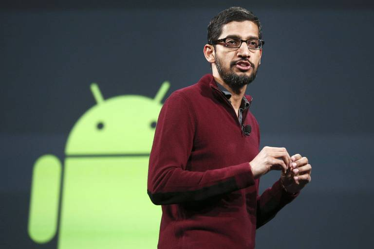 Sundar Pinchai, vice-presidente senior do Google