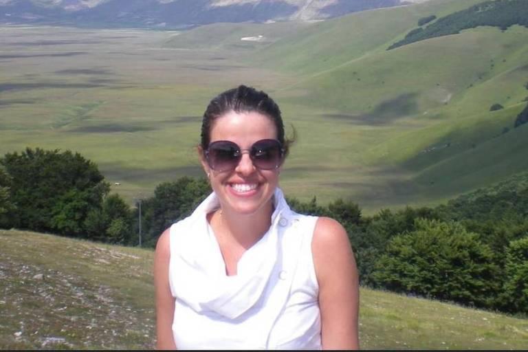 A juíza Viviane Vieira Arronenzi, que foi morta a facadas pelo ex-marido na véspera de Natal
