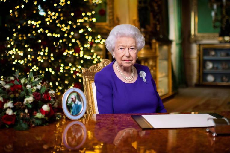 Rainha Elizabeth durante discurso anual de Natal