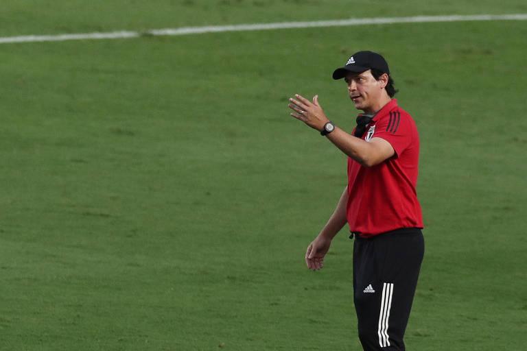Fernando Diniz reencontrará Marcão, que foi seu auxiliar no Fluminense em 2019
