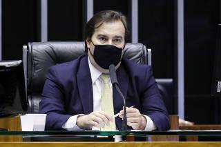 Rodrigo Maia em votação