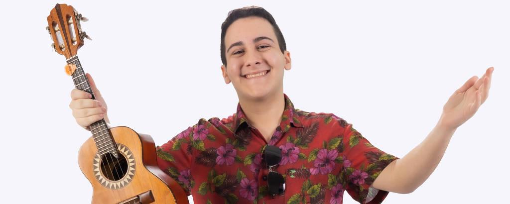 O cantor Enzo Belmonte