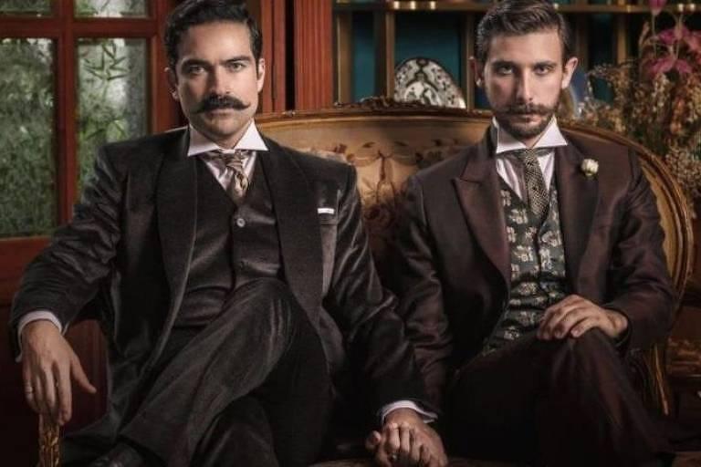 Os atores mexicanos Alfonso Herrera e Emiliano Zurita são protagonistas do filme 'El baile de los 41', baseado em acontecimentos reais