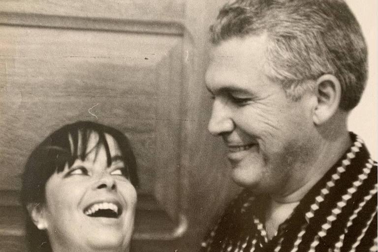 Anna  Lydia Lanna Kalil e Anuar Kalil foram casados por 60 anos. (Foto: Acervo Pessoal)
