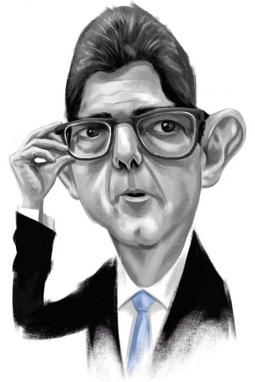 Caricatura de Joaquim Levy