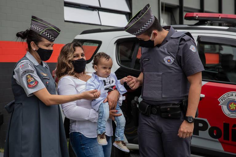 Policiais militares fazem em média um parto por dia em SP