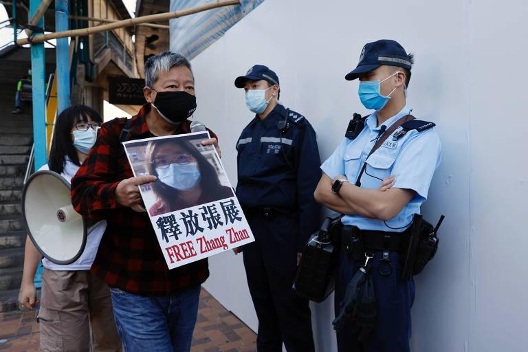 China condena a 4 anos de prisão jornalista cidadã que cobriu epidemia em Wuhan
