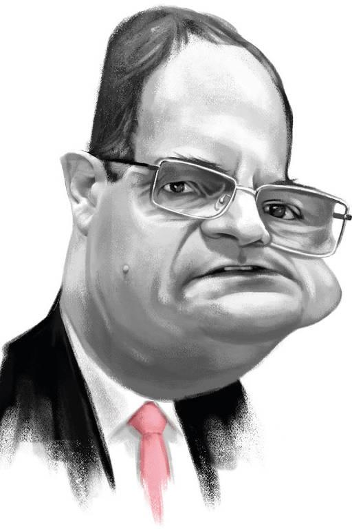 Redes sociais Caricatura Nelson Barbosa