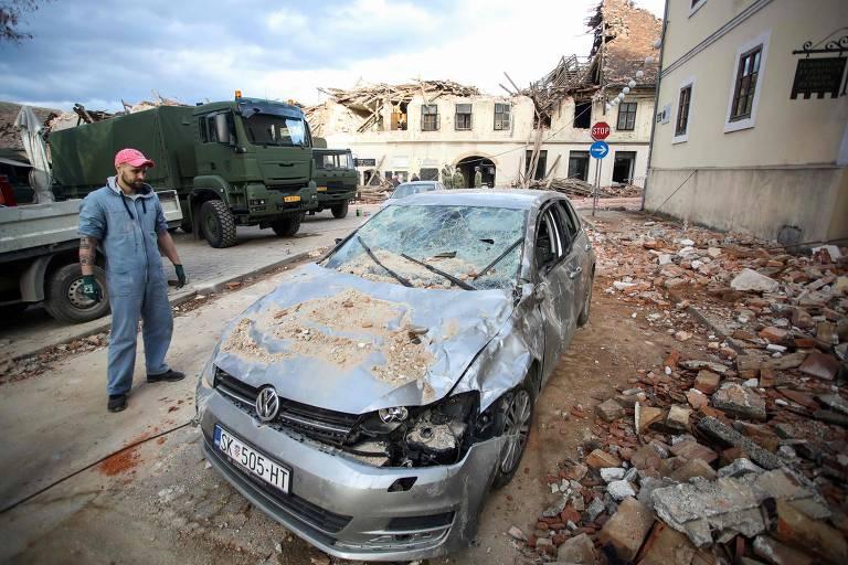 Terremoto deixa ao menos 6 mortos e 20 feridos na Croácia
