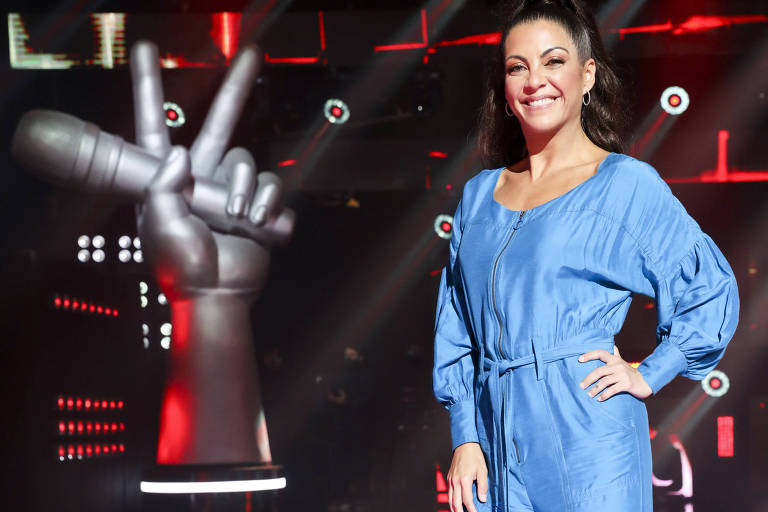 Thalita Rebouças no The Voice Brasil +