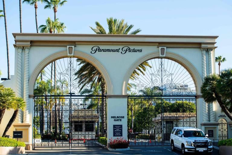Entrada do estúdio da Paramount, em Los Angeles