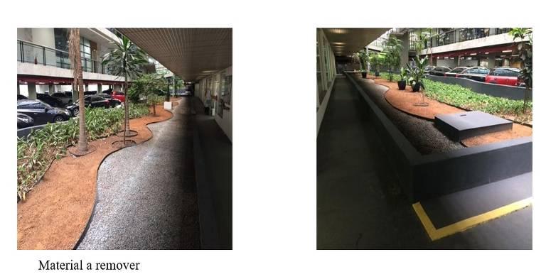 Reprodução de trecho do edital que previu a reforma do 'Jardim de Inverno' da Assembleia Legislativa de São Paulo