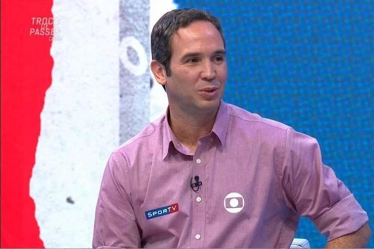 Caio Ribeiro, comentarista da Globo