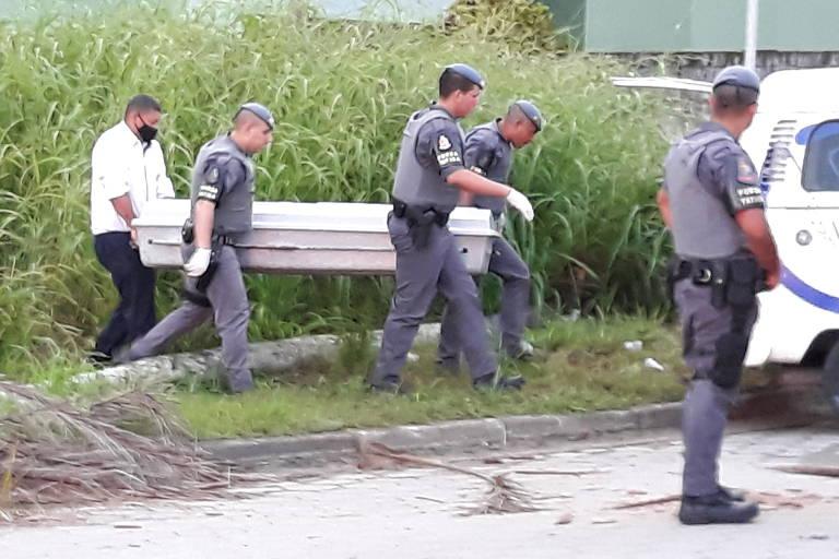 Turistas são assaltados e baleados em cidades do litoral norte no Ano-Novo