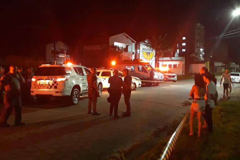 Turistas são assaltados e baleados em cidades do litoral norte de SP no Ano-Novo