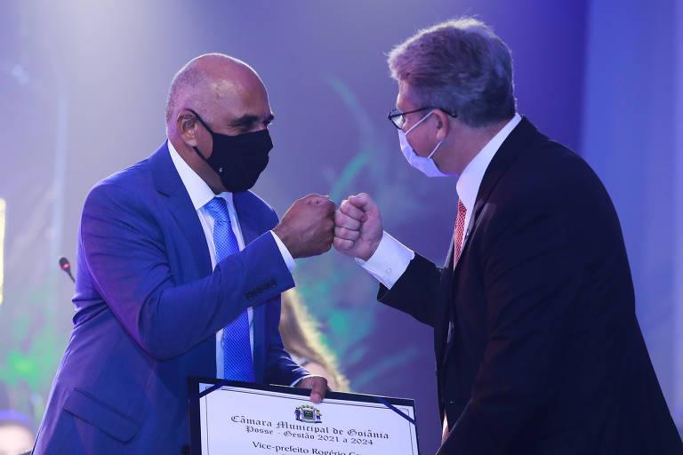 Prefeito de Goiânia toma posse em UTI com assinatura eletrônica após ter Covid-19