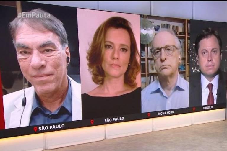 Comentaristas se desentendem no GloboNews Em Pauta